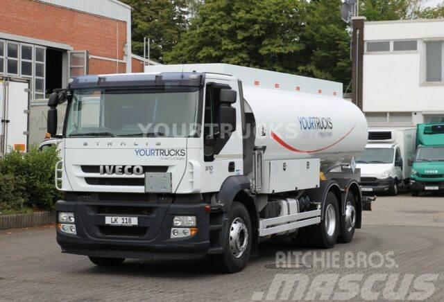 Iveco Stralis 310 E5/18000l/5 Kammern/ADR/Lenkachse