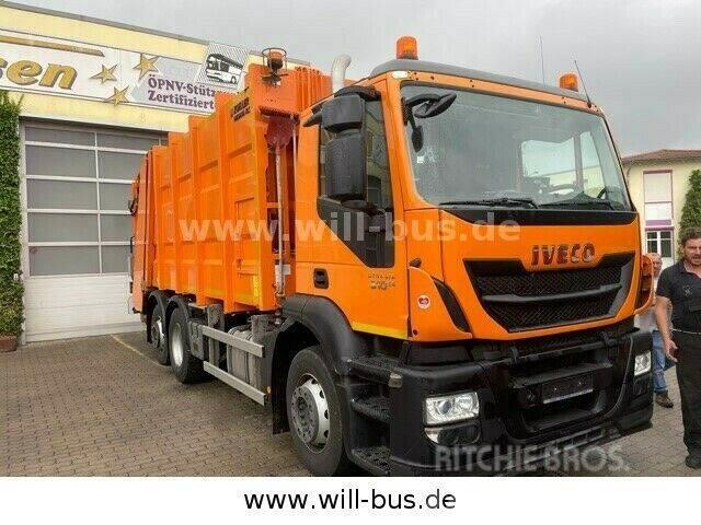 Iveco Stralis 310 Zöller Medium XL-S 21,5 m E 6 MIETE