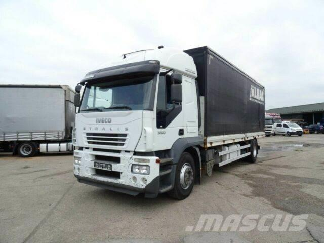 Iveco STRALIS 350threesided with bords,E3, vin 846