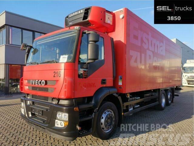 Iveco Stralis 420 AD260S42Y/FS-D / Carrier / Ladebordw