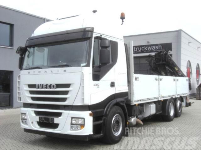 Iveco Stralis 420 KRAN /HIAB 166/Lenkachse