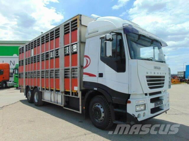 Iveco STRALIS 430 animal transport 6x2, E3 vin 019