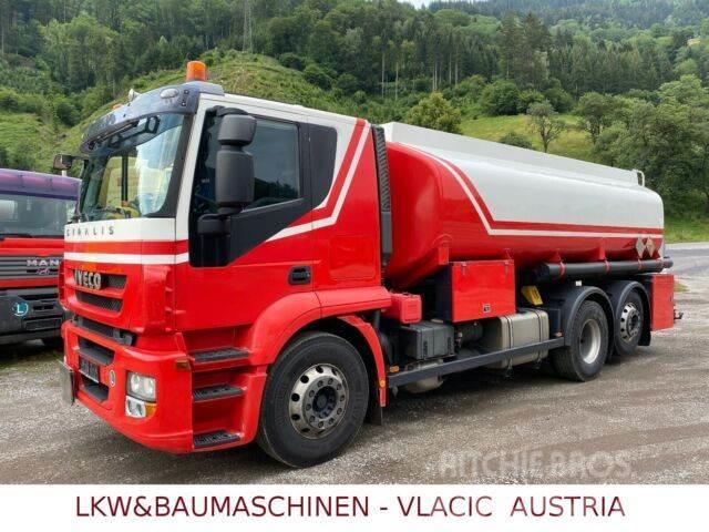 Iveco STRALIS 45 - Schwarzmüller/ Benzin/Diesel -