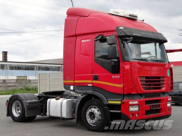 Iveco STRALIS 500 / MANUAL / EURO 5 / ACTIVE SPACE /