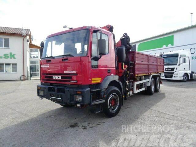 Iveco TRAKKER 260E38 with crane FASSI F210 6x4,E3,959