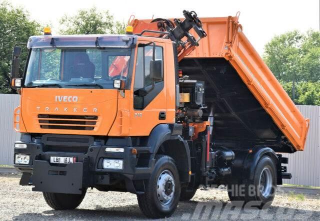 Iveco TRAKKER 310 Kipper 4,00m +ATLAS 165.2E+ FUNK/4x4
