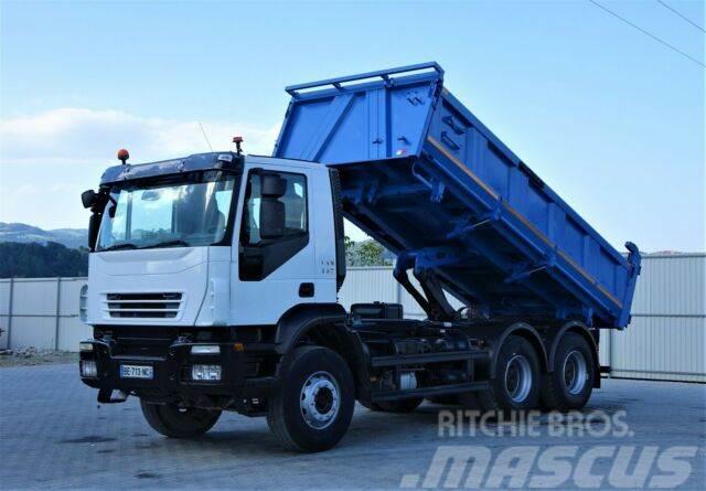 Iveco Trakker 360 Kipper + Bordmatic 5,20m 6x4 !!