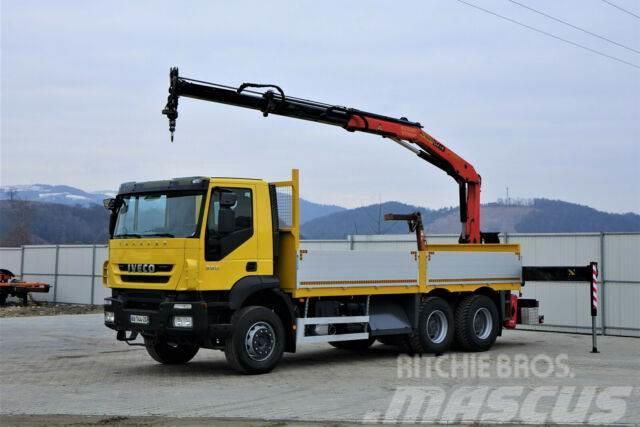 Iveco Trakker 360 * Pritsche 6,10m + KRAN/FUNK * 6x4