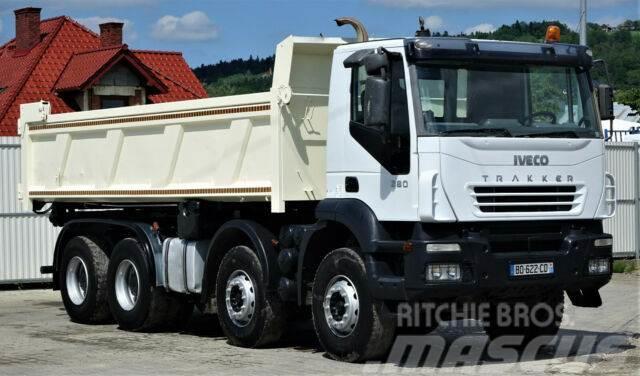 Iveco Trakker 380 Kipper + Bordmatic 6,10m 8x4