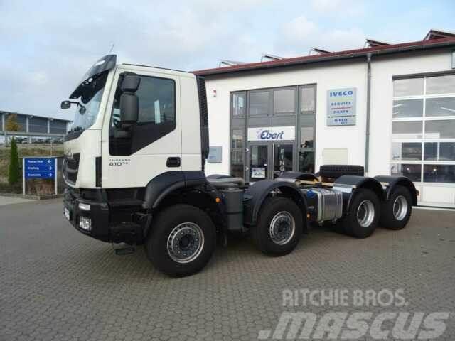 Iveco Trakker 410 8x4 Fahrgestell-Betonmischer Euro 6