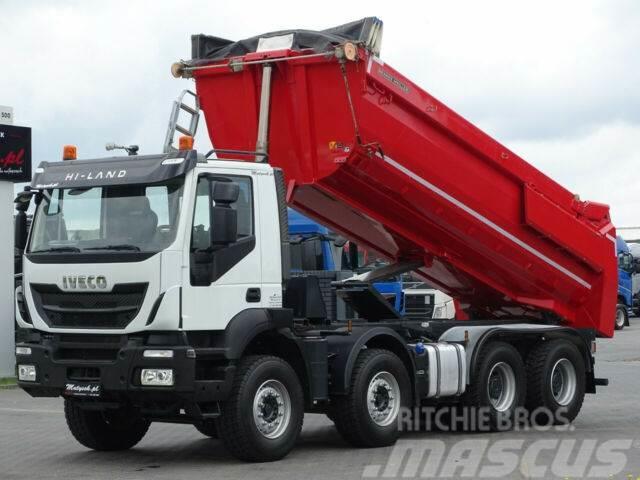Iveco TRAKKER 450 /8X4/END DUMP MEILLER KIPPER/EUR 6