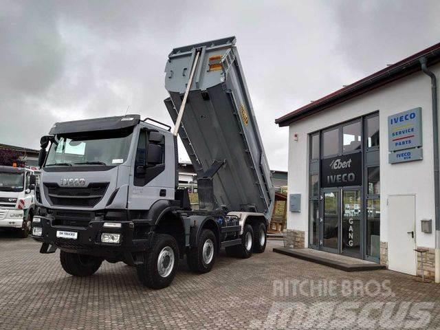 Iveco Trakker 450 8x8 Meiller-Mulde hydr. Heckklappe