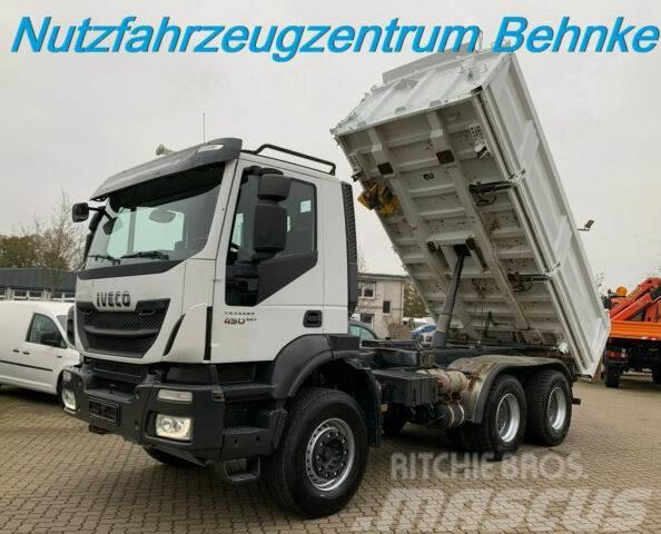 Iveco Trakker 450/ AD260T45/ Meiller+Bordmatik+Ölansch