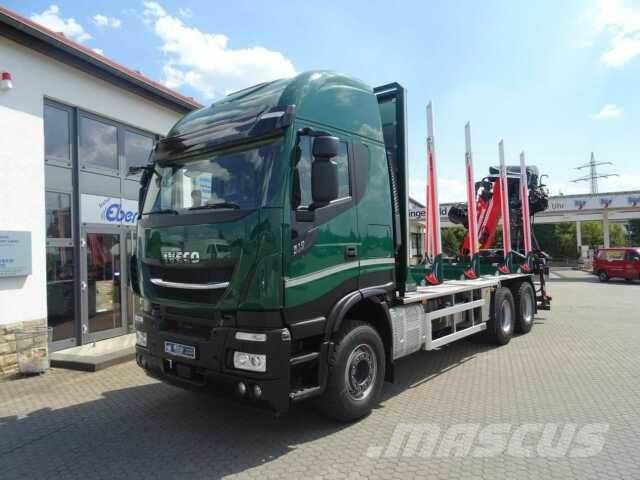 Iveco X-Way AS 260 X 51 Z/P HR ON+ / Cranab TZ12.2