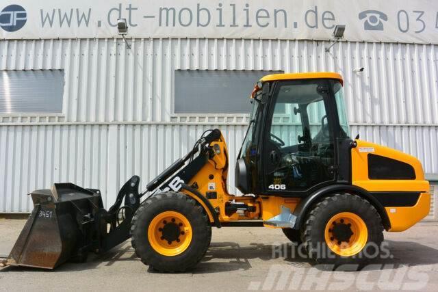 JCB 406 Schaufel & Palettengabel
