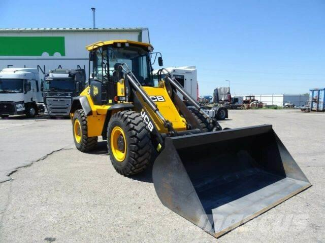 JCB 417 HT T4 front loader 4x4 vin 915