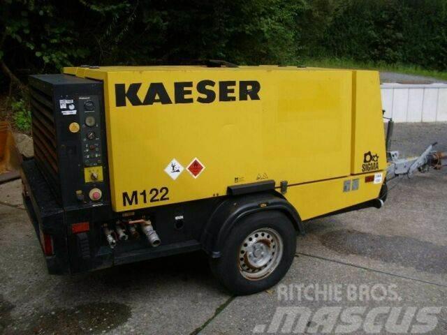 Kaeser M 122 Kompressor, Nachkühler