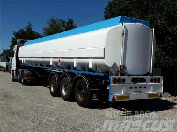 Kässbohrer 43000 Liter ADR Gazole/Diesel Pomp Messanlage