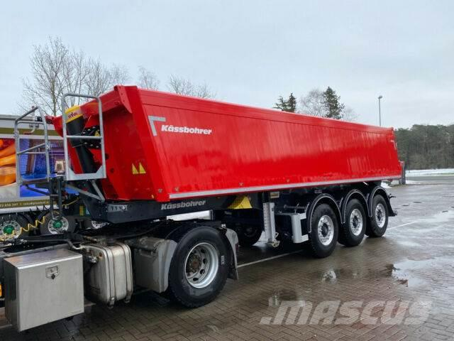 Kässbohrer Kasten Typ Aluminium Kipper 24m³ 5.130 kg