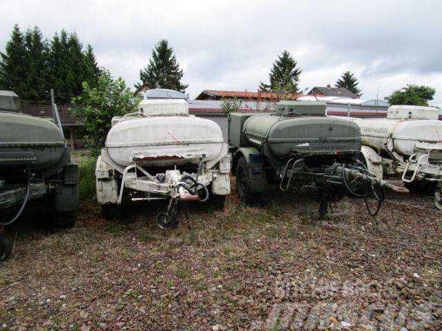 Kässbohrer Wassertank Pferdetränken BWB 23 mehrfach vorhand