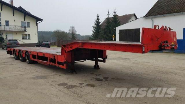Kel-Berg Extendable Low loader semitrailer 12,60 + 6 m