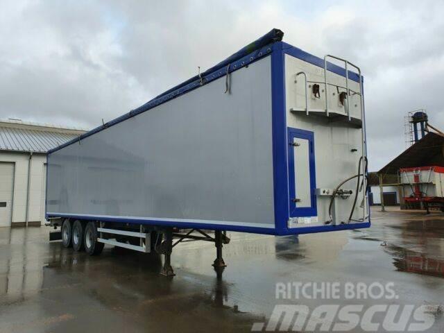 Kraker Walkingfloor 92m3 7540 kg!