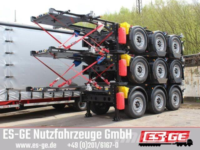 Krone 3-Achs-Containerchassis 20ft