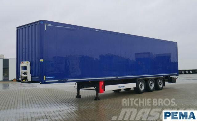 Krone 3-Achs Kofferauflieger Rolltor PEMA 104242