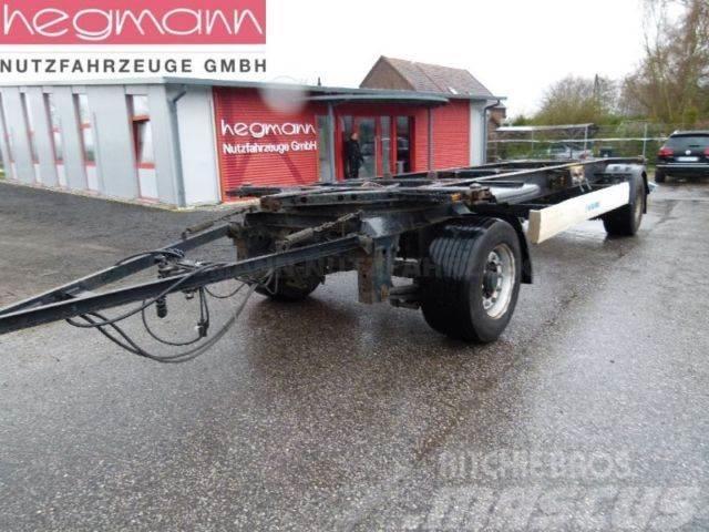 Krone AZW18, Maxilafette, deutsches Fahrzeug