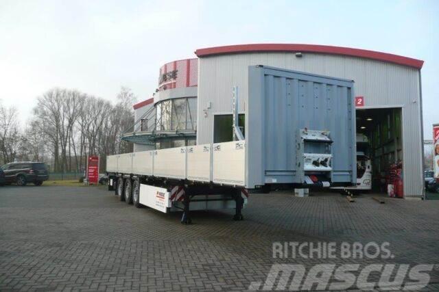 Krone Baustoffauflieger Stahlmattentransport