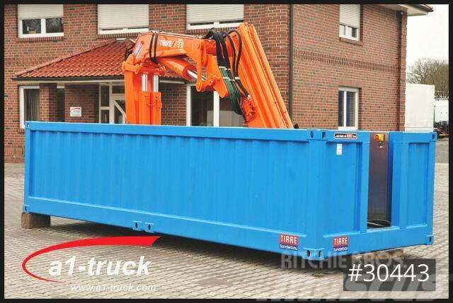 Krone Container Elektro Kran Tirre 331 Funk, stationär