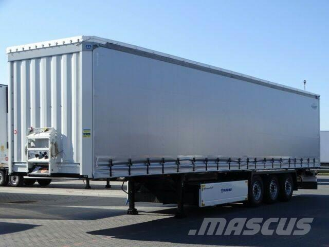 Krone CURTAINSIDER /STANDARD /LIFTED AXLE / PALLET BOX