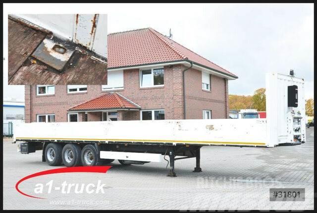 Krone SD 27, Bordwand, Container Verriegelung - Twist