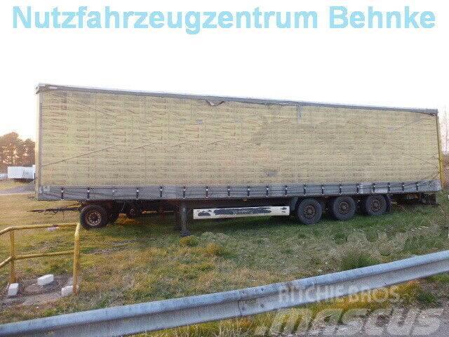 Krone SD MegaLine Schiebegardinen + Edscha + Hecktüren