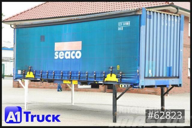 Krone WB 7,45 BDF Container, stapelbar, Containertüren