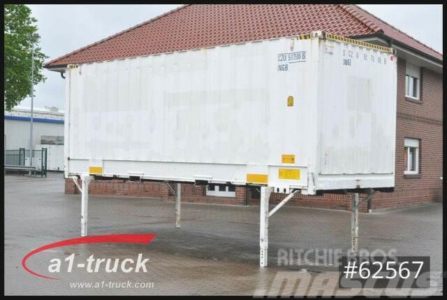 Krone WB 7,45, Container, stapelbar, Staplertasche