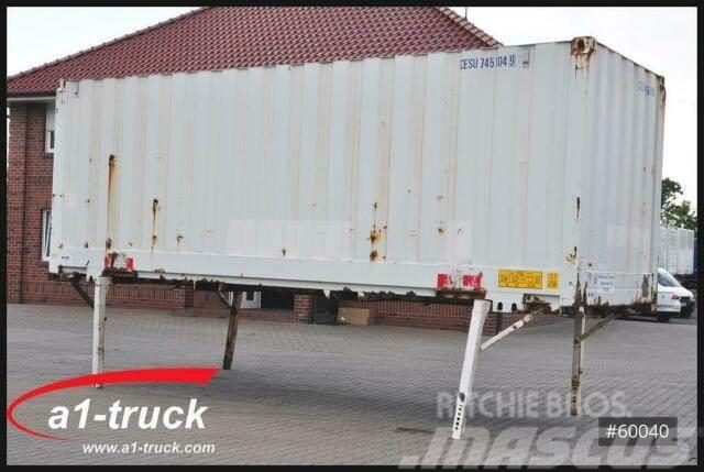 Krone WB 7,45 Koffer, stapelbar, Stapler, Container,