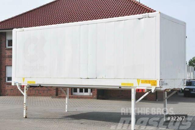 Krone WB BDF 7,45 Koffer, Code XL, Zurrösen,