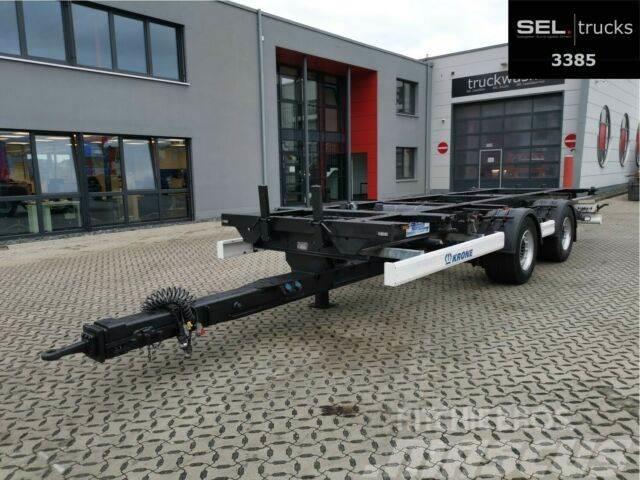 Krone ZZ / Lafette /SAF Achsen / German