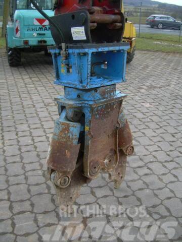 Krupp Betonschere, Abbruch, MS 08, Top