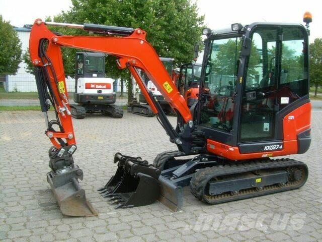 Kubota KX 027-4, Bj 20, 150 BH, Powertilt HS03, 2TL, GL