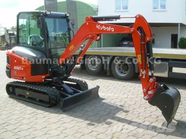 Kubota KX 027-4 High Spec, MS03, TL