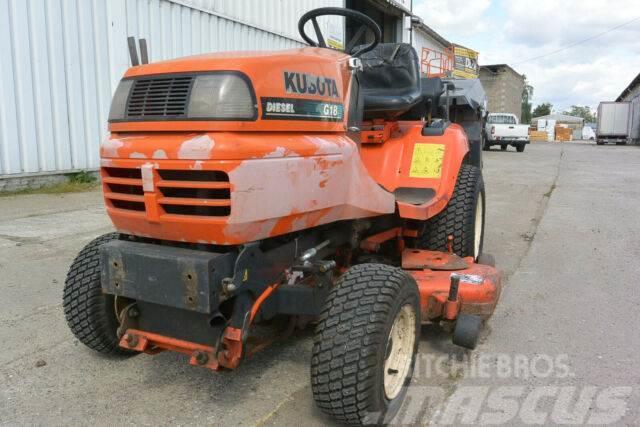 Kubota Traktor G 18 LD mit Mähwerk & Fangkorb hydr