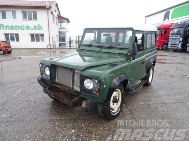 Land Rover Defender 90 Tdi, manual gearbox, vin 525