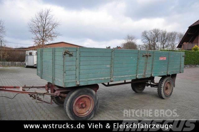 Langendorf Anhänger Getreide dicht