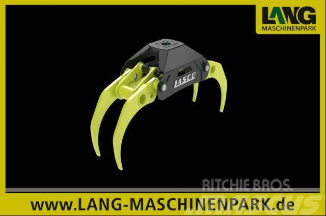 Lasco LA 140 EZ Holzzange Bagger Minibagger