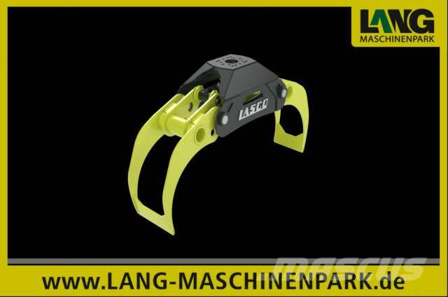 Lasco LA 140 HZ Holzzange Holzgreifer Bagger
