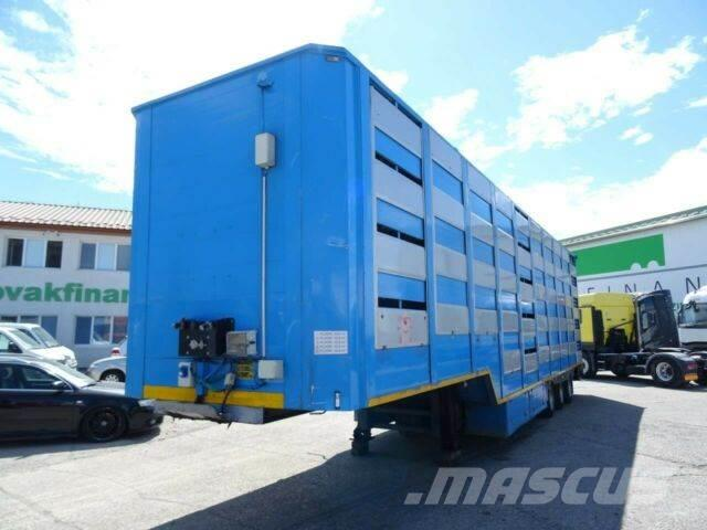 Lecitrailer animal transport, for pigs, 5floors, vin 433