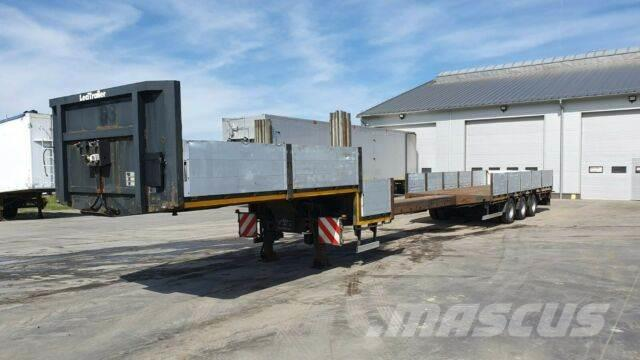 Lecitrailer Low Loader Extendable 2012 year