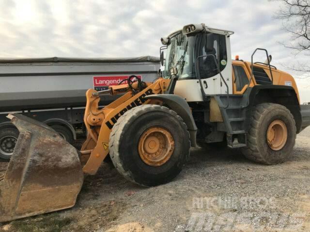 Used Liebherr 550 mit Waage WK 50 wheel loaders Year 2010